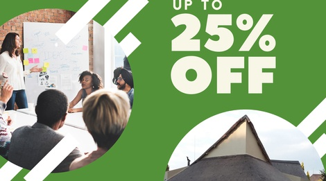 Get 25% Off Your Conference Now!